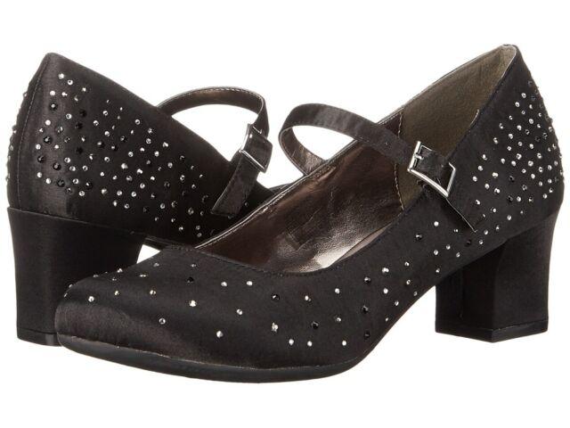 Kenneth Cole Black Dress Shoes Sarah Fade Older Girls Size 6 Ebay
