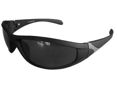 Sportbrille Sonnenbrille Schwarz Black Verspiegelt Motorradbrille Radbrille M 23