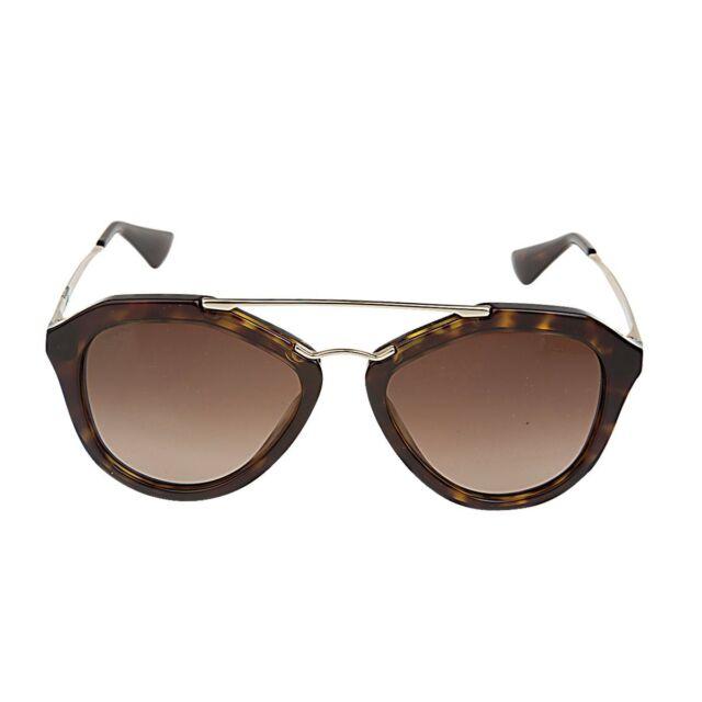 4485565892bd Brand New Authentic Prada Havana Brown Gradient Lens Sunglasses MSRP  325