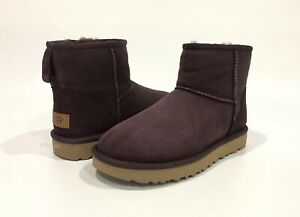 869a052641f Details about UGG CLASSIC MINI II BOOTS PORT SHEEPSKIN WATER/STAIN  REPELLENT -US SIZE 6 -NEW