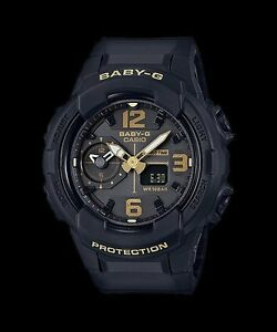BGA-230-1B-Black-Casio-Baby-G-Ladies-Watches-Analog-Digital-Resin-Band-New