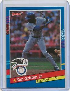 💥1991 Donruss Baseball Card #49 Ken Griffey Jr All-Star Seattle Mariners💎