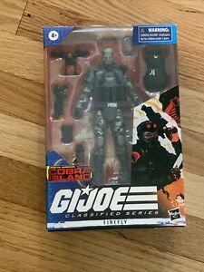 GI JOE CLASSIFIED SERIES SPECIAL MISSIONS COBRA ISLAND FIREFLY TARGET In Hand!