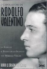 3 Dvd Box Cofanetto **I CAPOLAVORI DI RODOLFO VALENTINO** 3 film completi nuovo