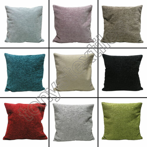 Solid Charisma Decorative Square Cushion Covers from 100/% Polyester 22x 22