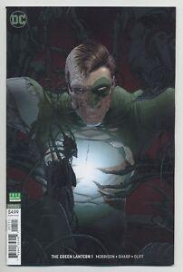 GREEN-LANTERN-1-Frank-Quitely-VARIANT-DC-comics-NM-2018-Morrison-Sharp