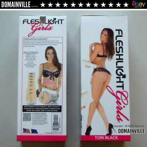 Tori-Black-Fleshlight-Realistic-Vagina-Male-Masturbator-Sex-Toy-Free-Lubes