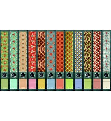 File Art 6 Design Ordner-Etiketten Pattern B.................................608