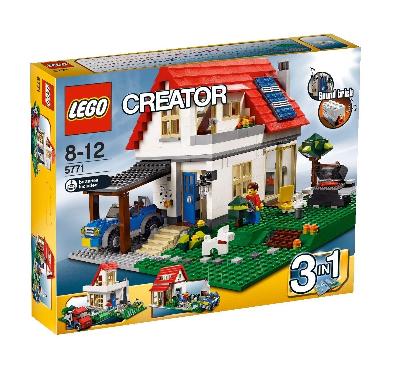 LEGO Creator Creator Creator Villa (5771) 3-in-1- Modell mit Sound Brick - Rarität  NEU & OVP ef3e0f