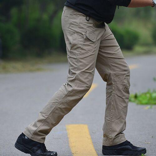 Homme Outdoor Militaire Urbain Tactique Combat Pantalon Décontracté Pantalon Cargo Randonnée