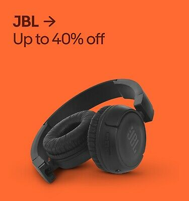 JBL Up to 40% off