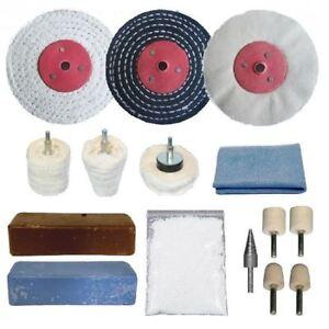 alloy wheel polishing kit 15pc 4 x 1 2 ebay. Black Bedroom Furniture Sets. Home Design Ideas