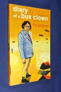 DIARY-OF-A-BUS-CLOWN-Steve-Abbott-THE-SANDMAN-Book-JJJ