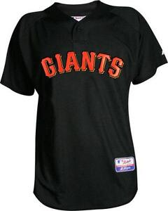 brand new aabf8 5449d Details about Majestic San Francisco Giants Authentic Batting Practice Cool  Base BP Jersey