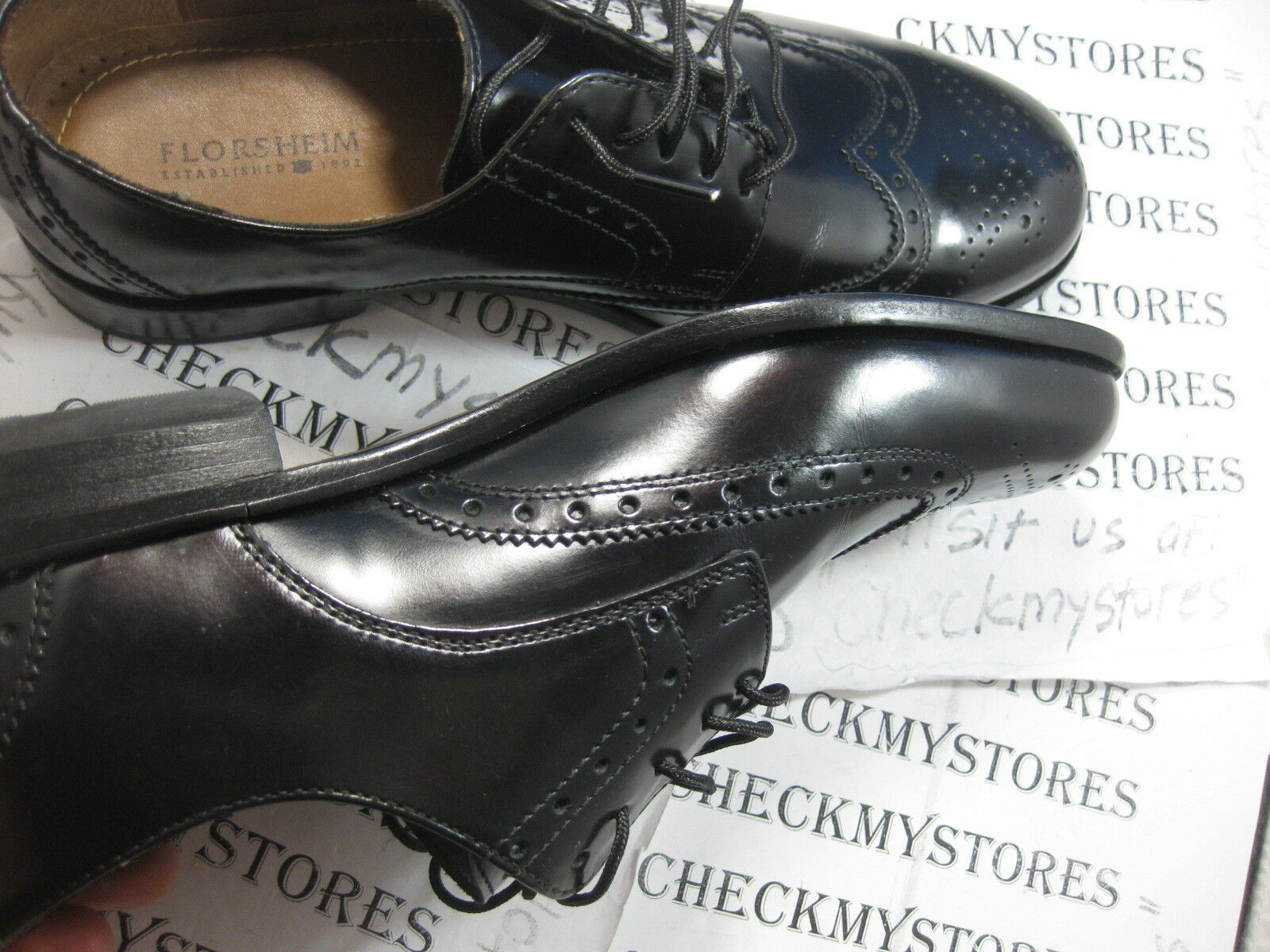 NEW Florsheim 11231 001 Brookside Genuine Leather Premium oxford oxford oxford 15410f
