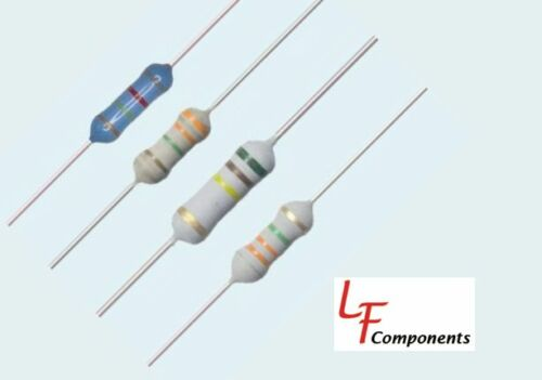 56 Ohm 1 Watt 5/% Metal Oxide Resistor 281-56-RC 10 Piece Lot