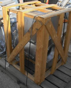 New Aluminum Tubular Centrifugal Fan 1hp 1700cfm 3 Quot Wc Ebay