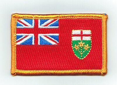 Parche bandera PATCH NUEVA ESCOCIA PROVINCIAS CANADA CANADIAN bordado