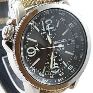 Seiko-Prospex-Nuevo-Para-hombres-Reloj-Alarma-Cronografo-Solar-SSC293P1