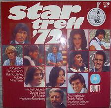 LP Star Treff `72 Bunte,VG+ Vinylschallplatte Deutscher Schlager Metronome