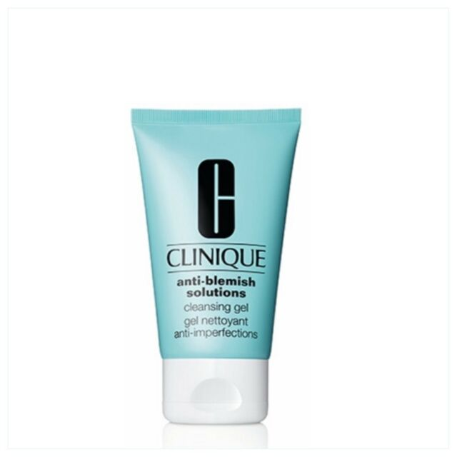 Clinique Anti-Blemish Solutions Cleansing Gel 125ml Skincare Cleanser New In Box