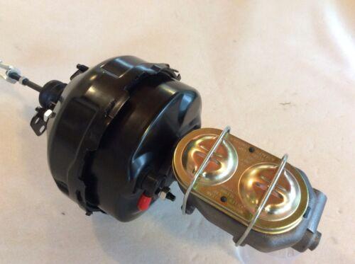 "1968-74 Chevy Nova 9/"" dual diaphragm brake booster 1 1//8/"" bore master cylinder"