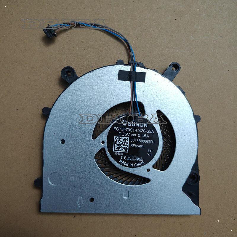 Laotop CPU Cooling Fan For HP ProBook 650 G4 EG75070S1-C420-S9A 6033B0060801