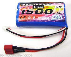 Powerhouse-rookie-Challenger-BATTERIA-1500-mAh-LiPo-7-4-V-t4928-22