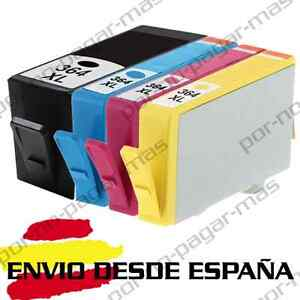 4-CARTUCHOS-NON-OEM-PARA-HP364XL-HP-364-XL-CON-CHIP-PHOTOSMART-7510-7520-5520