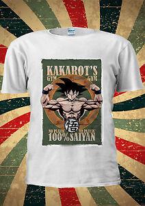67a47cba Son Goku Kakarot's GYM Dragon Ball G ZT T-Shirt Vest Top Men Women ...