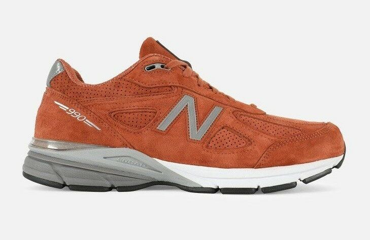 New Balance Men's 990V4 Running Shoes Jupiter/Spice Made in USA M990JP4 c