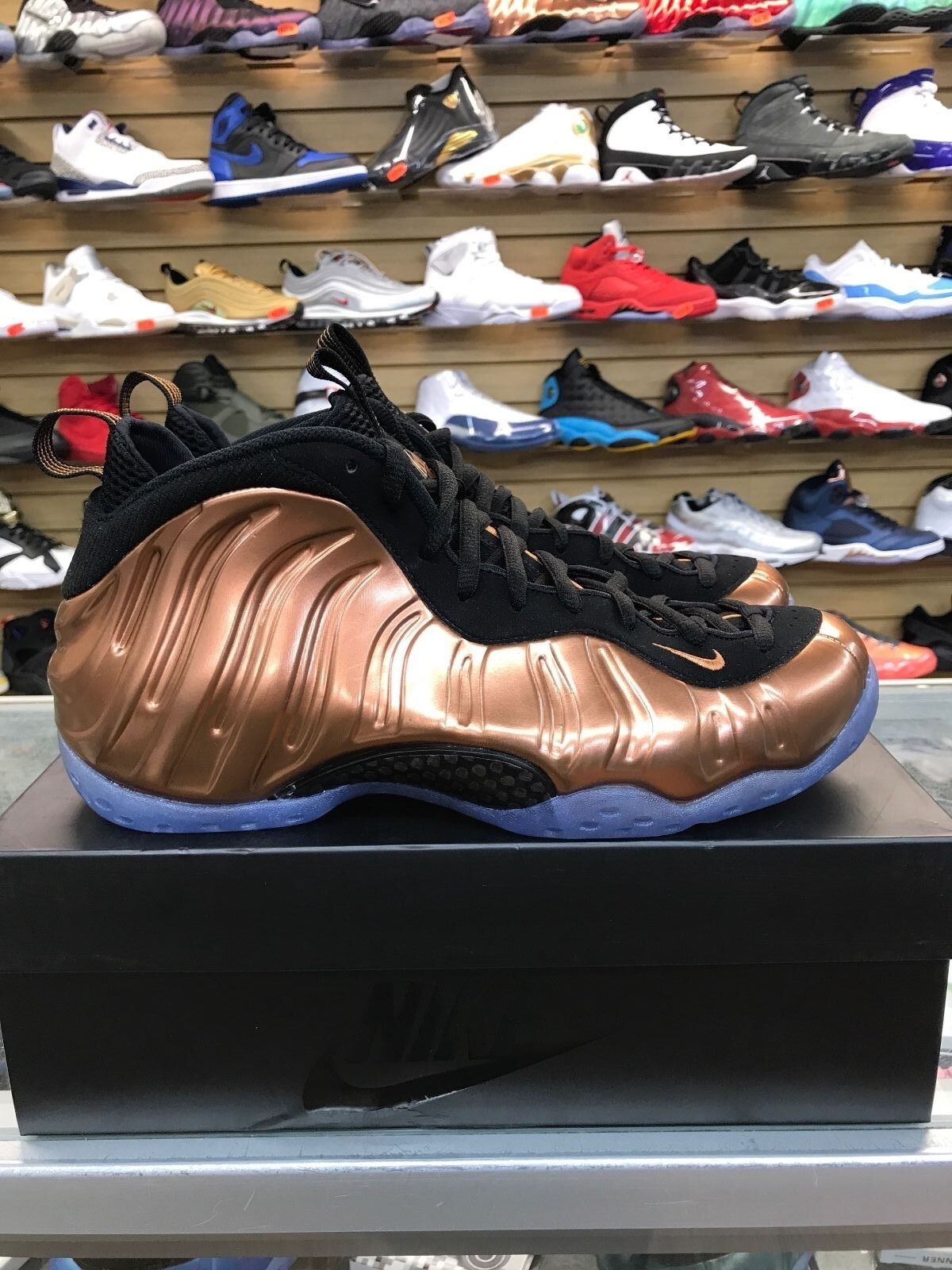2017 Nike Air Foamposite One COPPER Mens Sizes(8-13) 314996-007 100% AUTHENTIC