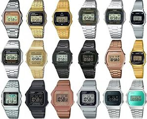 Casio-Retro-Digital-Chronograph-Bracelet-Watch-for-Ladies-Gents-Girls-amp-Boys