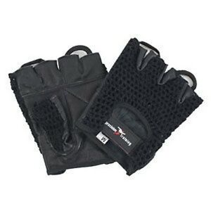 Weightlifting-Weight-Lifting-Gloves-Leather-S-M-L-XL-Exercise-Gym-Keep-Fit-Train