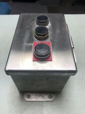 Food Equipment Pushbutton Hoffman Stainless Industrial Controlzb2 Be102 101