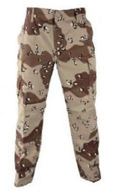 US Army 6 color DCU Desert Combat VEGETATA desertica PANTALONI PANTS TROUSERS XLL XLARGE Long