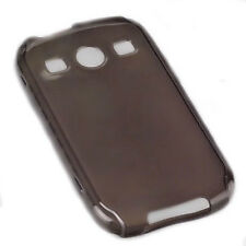 Silikon TPU Cover Case Handy Hülle in Smoke für Samsung S7710 Galaxy Xcover 2 II