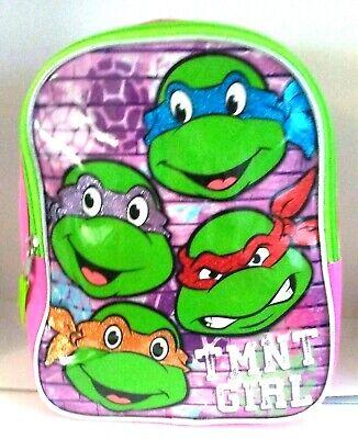 Nickelodeon Teenage Mutant Ninja Turtle Mini Toddler 12 Backpack