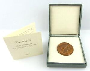 Medaille: Eine Medaille aus Goethes Sammlung Charis e1215