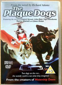 The-Plague-Dogs-DVD-1982-Richard-Adams-Lab-Animacion-Pelicula-Pelicula-Clasica