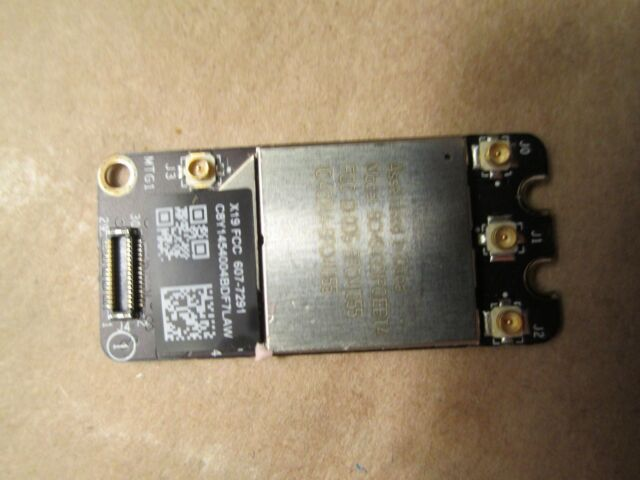 USED WiFi Air Port Card 607-7291 For Macbook Pro Unibody A1278 A1286 A1297 2011
