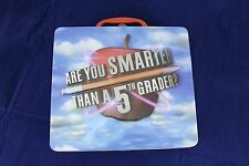 Are You Smarter Than a 5th Grader Board Game Metal Lunch Box CD