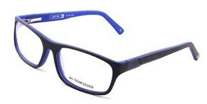 3b4a3585bbab2 New Quiksilver DRIFTER 51-16-40 51mm RX Glasses Black Blue Frames ...