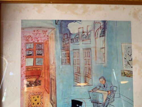 Gold Framed Print In Original Box Raoul Dufy The Artist/'s Studio 1935