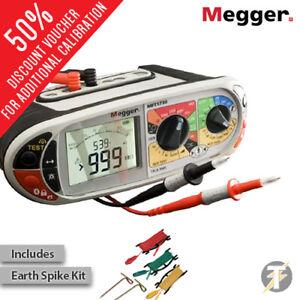 Free Earth Spike Kit Fluke 1664FC Multifunction Installation Tester Calibrated