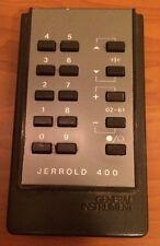 Jerrold 400 Cable Box Remote (NO BATTERY COVER)
