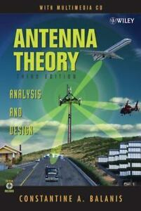 Antenna theory analysis and design by constantine a balanis 2005 antenna theory analysis and design by constantine a balanis 2005 cd rom hardcover revised fandeluxe Image collections