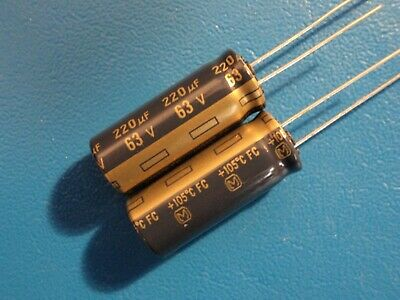 Panasonic FC 12uF 35V 105C Electrolytic Capacitors Lots of 2 to 100
