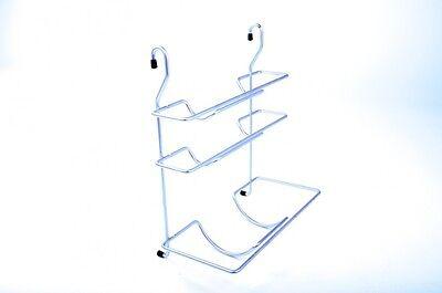 Wesco Relingsystem Rollenhalter 3 Fach Chrom Küchenreling Küchenrollenhalter neu
