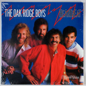 Oak-Ridge-Boys-Heartbeat-1987-SEALED-Vinyl-LP-Time-In-True-Heart
